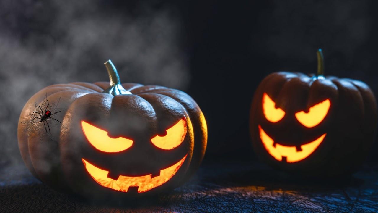 Free screensaver for Halloween HalloweenTwoPumpkins - YouTube