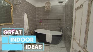 How to Do a French-Style Bathroom Makeover: Part 2 | Indoor | Great Home Ideas