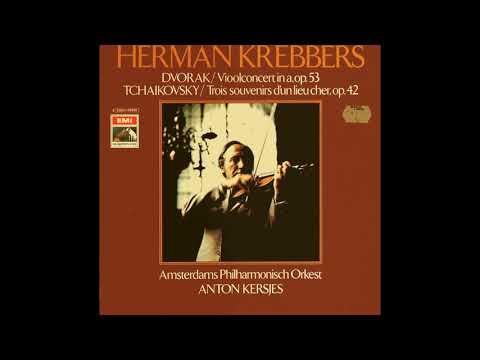 Herman Krebbers -Tchaikovsky Melody, Op 42