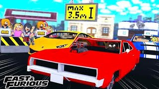 FAST - FURIOUS MILLION DOLLAR CAR VS THOUSAND DOLLAR CAR - Aventures de jeux Roblox