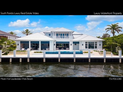 South Florida Luxury Real Estate Video, Luxury Waterfront Property