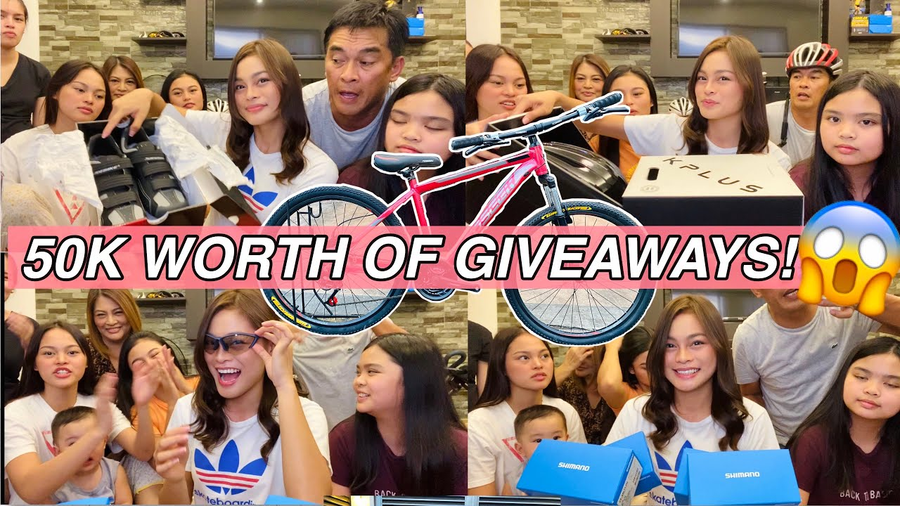 100K SUBS GIVEAWAY by Aira Lopez