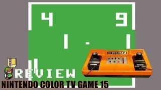 Review du Nintendo CoĮor TV Game 15
