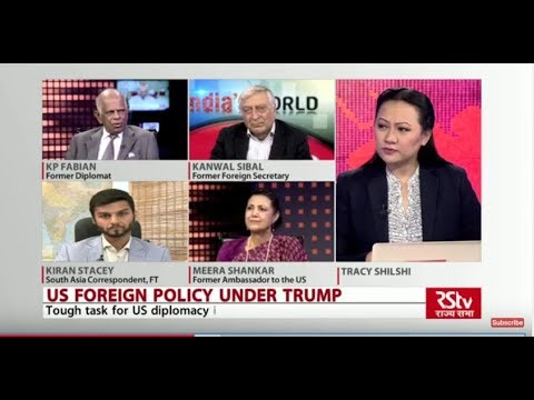 India's World : US Foreign Policy Under Trump