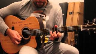 Michael Bolton - Said I Loved You But I Lied guitar solo (David Piçarra cover)