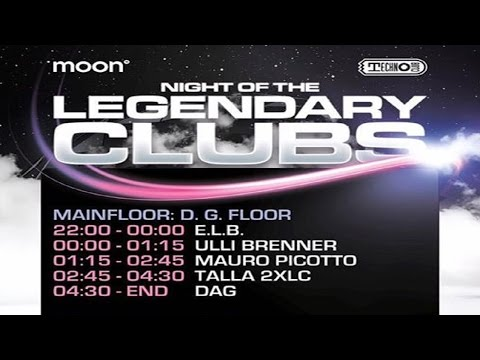 Mauro Picotto @ Night Of The Legendary Clubs | Technoclub Frankfurt | Club Moon13 (Cocoon)