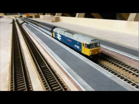 Dean Park Station Video 10 - Scalescenes Platform Kit - YouTube