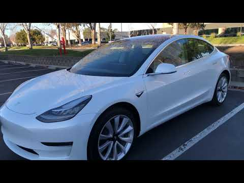 First Tesla Model 3: 1st Regular Customer Delivery and Detailed Walkthrough