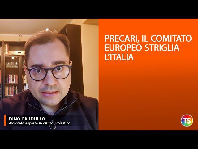 Precari, il comitato europeo striglia l'Italia