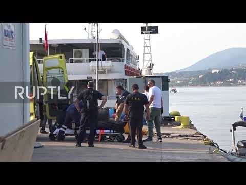 Greece: Hundreds of migrants disembark at Lesbos in record high single day arrival
