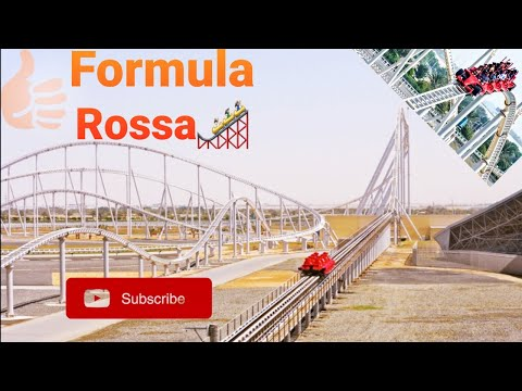 Formula Rossa | The World's Fastest Roller Coaster | Ferrari World Abu Dhabi