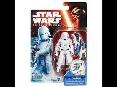 Star Wars The Force Awakens First Order Snowtrooper Figure New!