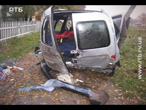 Телеканал РТБ: У селі Крилів Дубенського р-ну не розминулися два автомобілі - постраждала сім'я із Тернопільщини.