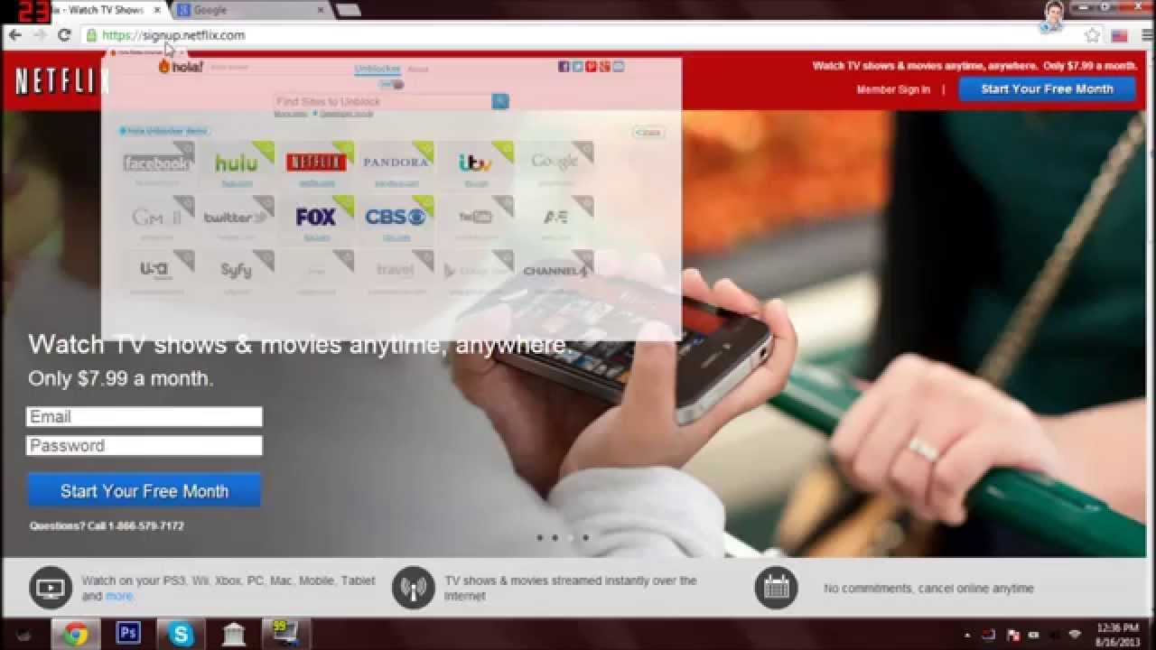 How To Get American Netflix in Canada Any Country on PC or Mac 100% Free - YouTube