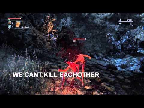 Bloodborne - A true naked gentlemen duel