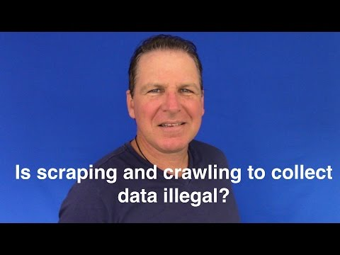 Q&A: Is scraping and crawling to collect data illegal?