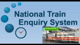 NTES [National Train Enquiry System]Everything u need know about Railways and Trains screenshot 5