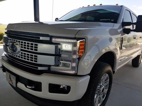 22300 Truck Edition Module Installation -- 2017 F250 Powerstroke Platinum