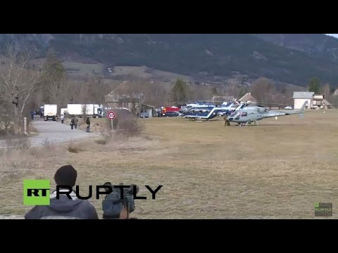 LIVE: Germanwings rescue operations resume in SeyneLesAlpes (7:00 GMT - 8:30 GMT)