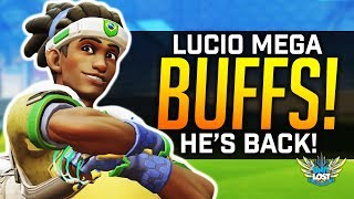 Video Overwatch - Lucio MEGA Ultimate BUFFS! - Must Pick Support?! download MP3, 3GP, MP4, WEBM, AVI, FLV Juli 2018