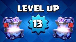 Clash Royale - Gemming to Level 13! 250,000 Gems