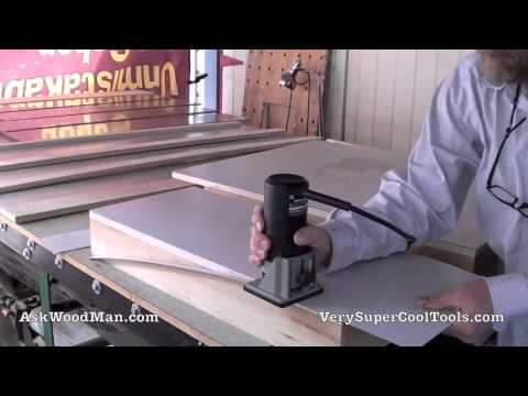 18 of 27: Putting Laminate on Extension Tables -- DIY Biesemeyer Style Guide Rail Series
