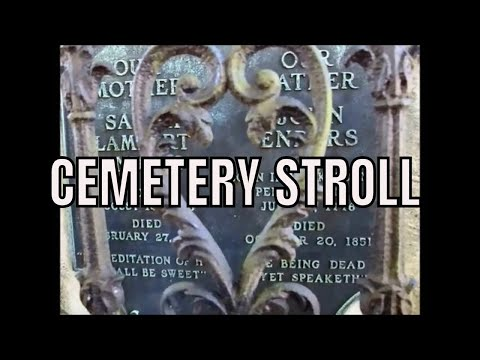 Cemetery at St. John's Church Walking Tour