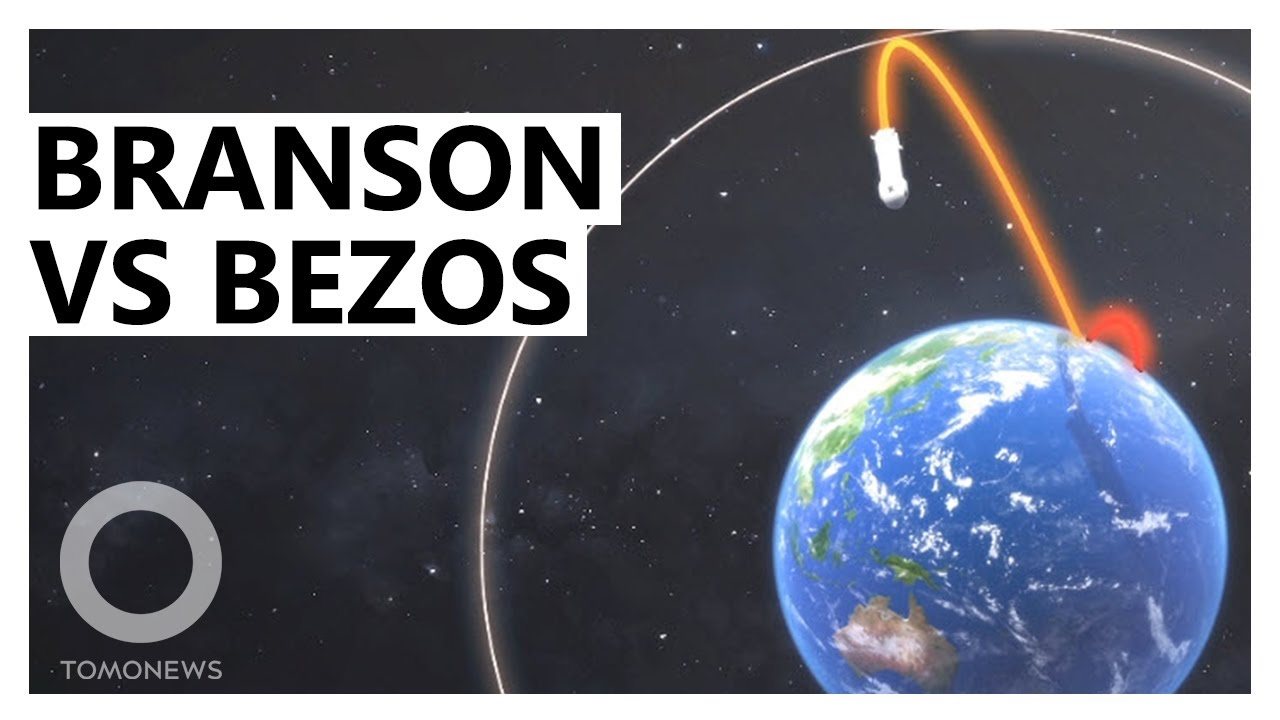 Branson's Desperate Bid to Beat Bezos to Space