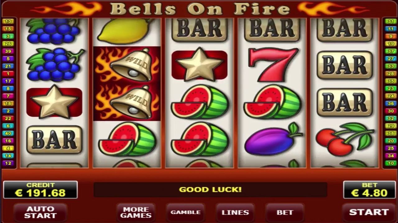 €100 For 5 Minutes!!! - Bells On Fire Slot Machine Bonus - YouTube