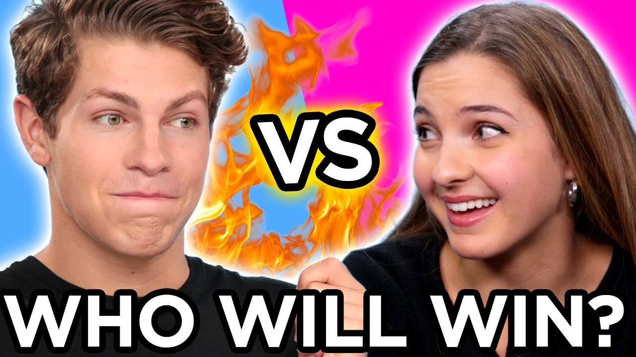 GUYS vs GIRLS Youtube CHALLENGE Compilation w/ Ben Azelart, Lexi Rivera, & MORE