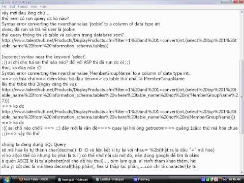 Sql injection CFM - upload by MDB.relo