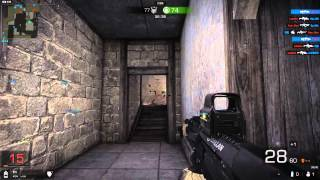 FPS Game Black Squad tarlin map