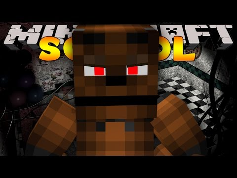 Minecraft School - FIVE NIGHTS AT FREDDY'S NIGHTMARE #4 The Final Night