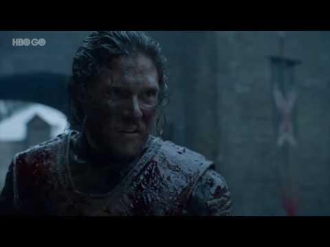 Game Of Thrones, Fight Jon Snow Vs Ramsay Bolton
