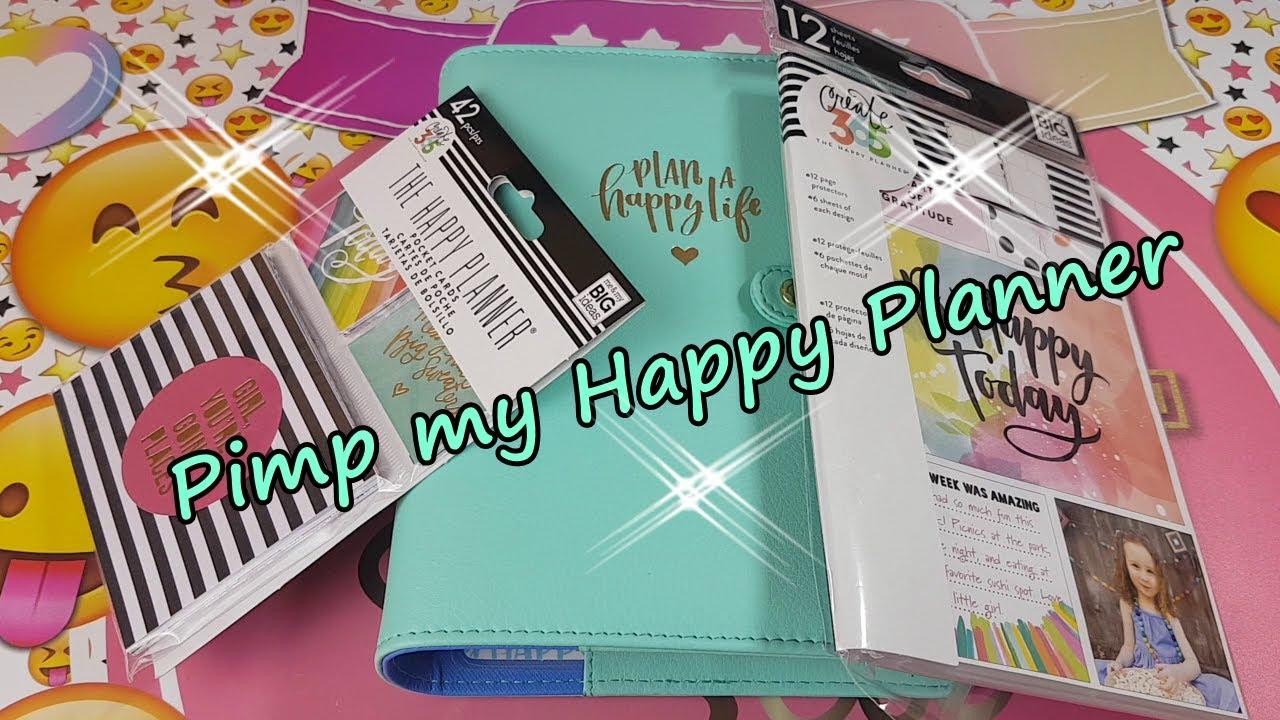 pimp my mini happy planner pocket cards youtube
