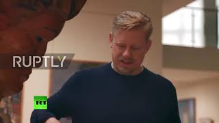 Legendary keeper Peter Schmeichel explores Saransk as World Cup nears