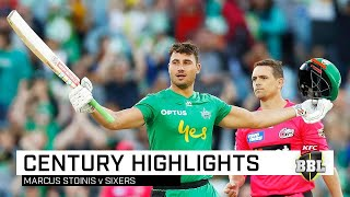 Super Stoinis smashes highest score in BBL history