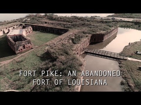 Fort Pike in New Orleans is another abandoned fort of Louisiana