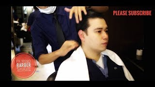 ASMR Complimentary Massage Union Barber Shave Part 2 Philippines