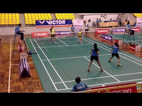 Giải cầu lông victor-kawasaki - đôi nữ - vnbadminton.com