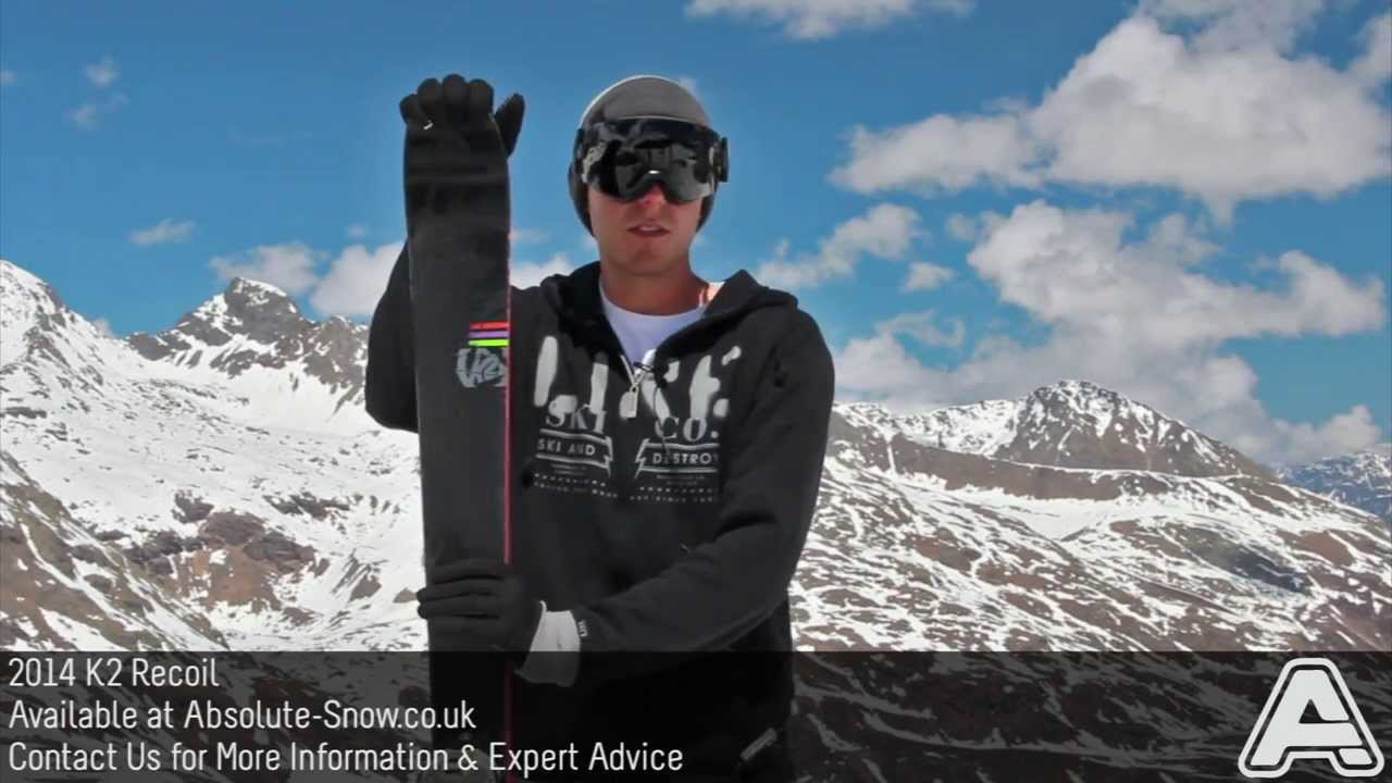 2013 2014 K2 Recoil Skis Video Review Youtube