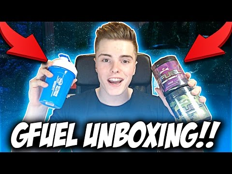 EPIC GFUEL UNBOXING !! (LIMITED EDITION Intel Extreme Master Shaker, Gamma Labs Gfuel Tubs + MORE!!)