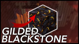What Is The Use Of GILDED BLACKSTONE In Minecraft 1.16