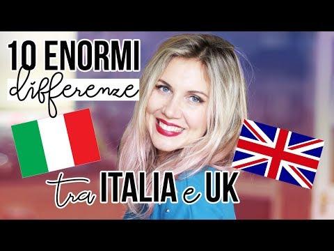10 ENORMI DIFFERENZE tra ITALIA e UK
