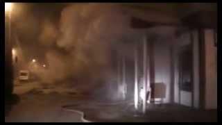 Два пожарных расчёта тушили кафе в Самаре(В субботу, в 23.40 на пульт пожарной части №9 поступил вызов о возгорании кафе, на ул. Александра Матросова...., 2013-03-11T18:25:07.000Z)