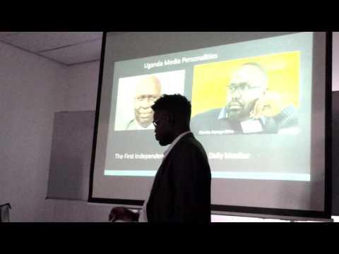 My presentation in Institute of Social Studies In Den Hague.