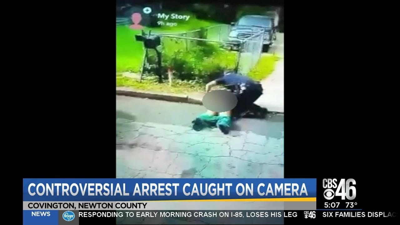 COVINGTON, GEORGIA: BLACK MOTHER OF 2 DRAGGED BY KKKOPS
