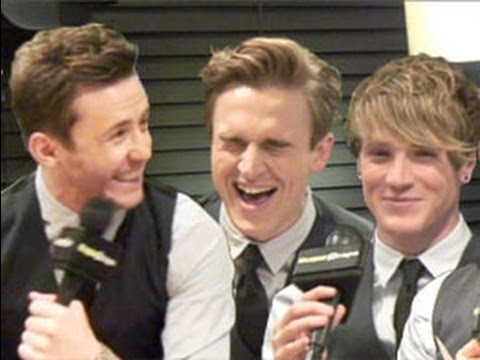 HA: McFly play the serious lyrics game - and can't stop laughing