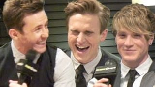 HA: McFly play the serious lyrics game - and can