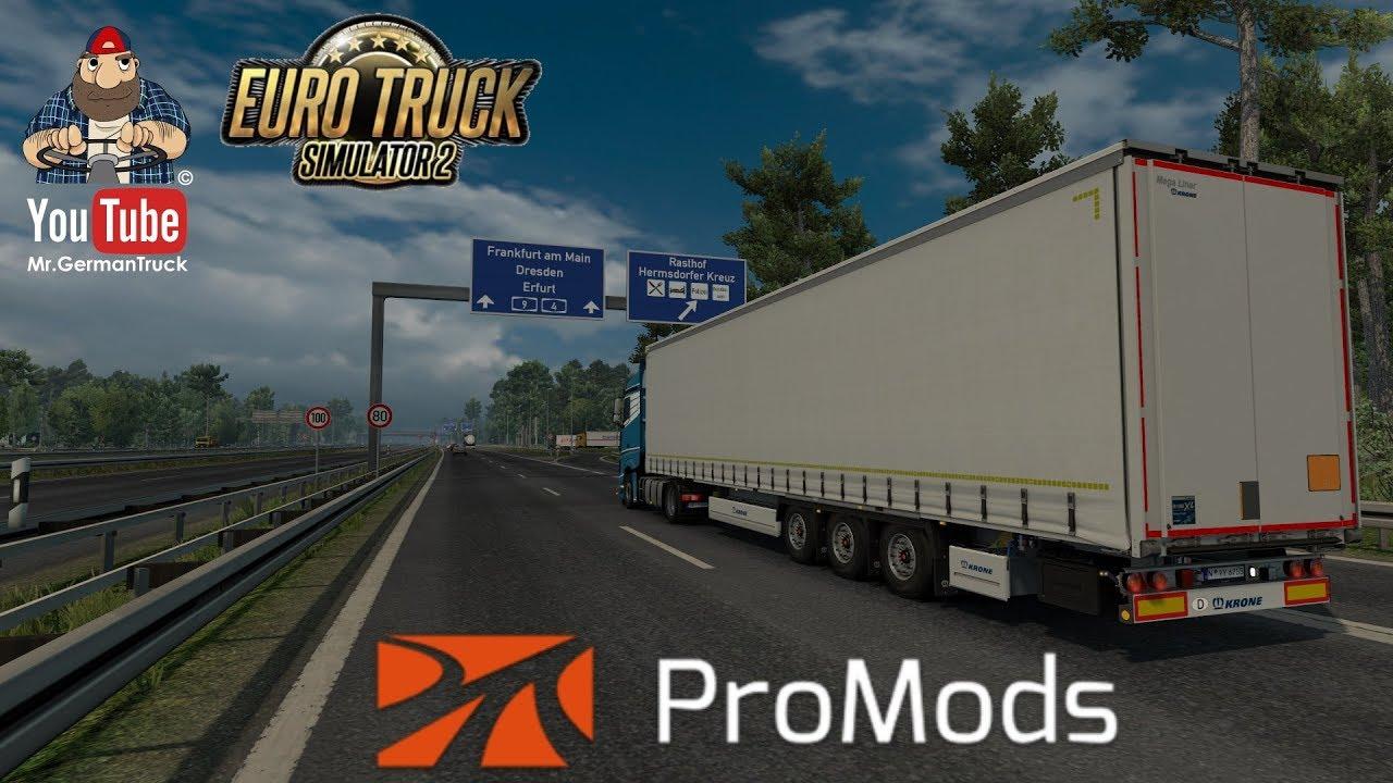 [ETS2 v1 32] ProMods MAP v2 31